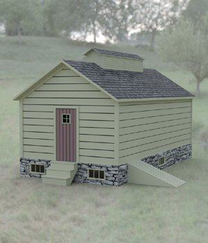 Ice House for DAZ Studio 3D Models Digimation_ModelBank