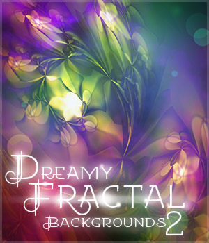 Dreamy Fractal Backgrounds 2 2D Graphics antje