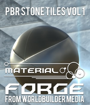 Material Forge: Stone Tiles Vol. 1  2D Graphics Extended Licenses WorldbuilderMedia