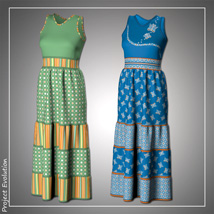 Summer Ruffle Dress and 7 Styles for Project Evolution - Poser image 3