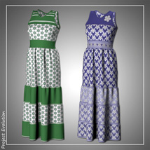 Summer Ruffle Dress and 7 Styles for Project Evolution - Poser image 4