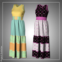 Summer Ruffle Dress and 7 Styles for Project Evolution - Poser image 5