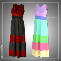 Summer Ruffle Dress and 7 Styles for Project Evolution - Poser image 6