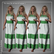 Summer Ruffle Dress and 7 Styles for Project Evolution - Poser image 7