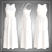 Summer Ruffle Dress and 7 Styles for Project Evolution - Poser image 8