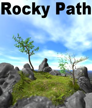 Rocky Path Poser 3D Models JeffersonAF