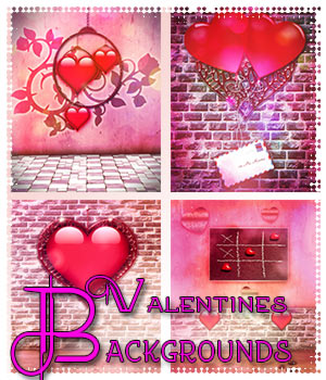 Valentines Backgrounds 2D Graphics antje