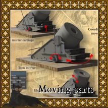 Union Navy Mortar Barge image 2
