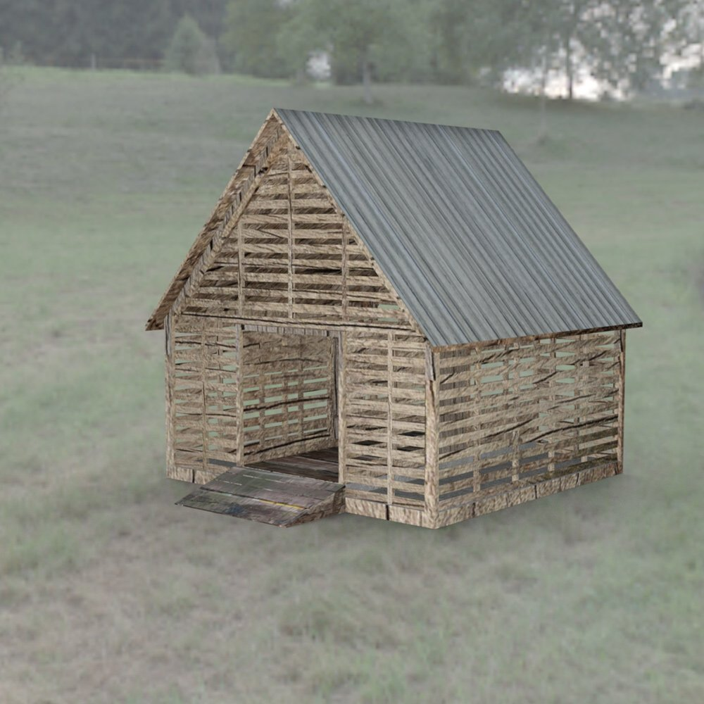 Corncrib  for DAZ Studio