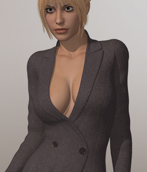 Overcoat I for V4A4G4S4Elite and Poser 3D Figure Assets 3D-Age