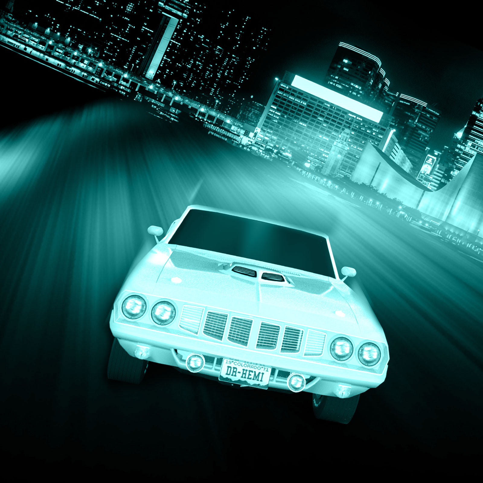 Night Car Race PS Brushes