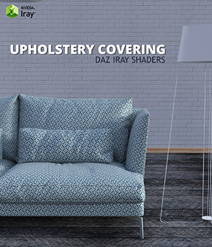 Upholstery Covering :: Daz IRAY Shaders 2D Graphics Merchant Resources Cyrax3D