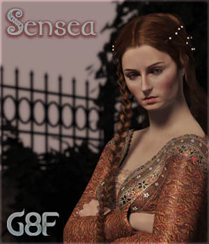 Sensea for Genesis 8 Female 3D Figure Assets Sangriart