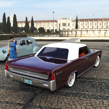 LINCOLN CONTINENTAL 1961  ( OBJ and FBX ) EXTENDED LICENSE image 2
