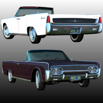 LINCOLN CONTINENTAL 1961  ( OBJ and FBX ) EXTENDED LICENSE image 3