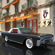 LINCOLN CONTINENTAL 1961  ( OBJ and FBX ) EXTENDED LICENSE image 5