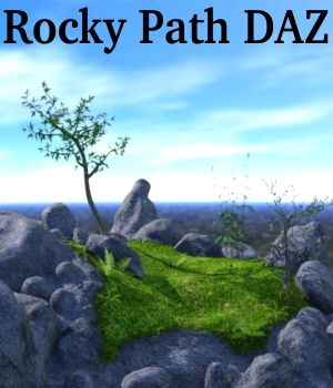 Rocky Path DAZ 3D Models JeffersonAF