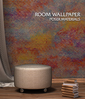 Room Wallpaper :: Poser Materials 2D Graphics Merchant Resources Cyrax3D