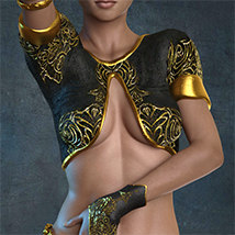 Exnem Sorceress Outfit for G3 Female image 1