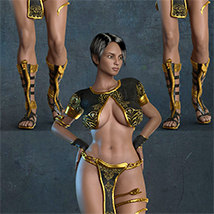 Exnem Sorceress Outfit for G3 Female image 8