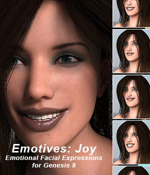 Emotives Joy 3D Figure Assets sixus1