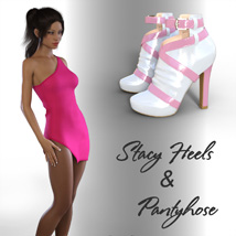 Stacy Heels and Pantyhose G8F image 4