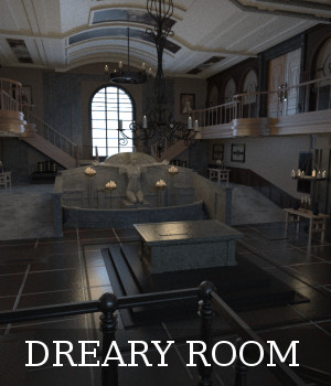 Dreary Room 3D Models TruForm