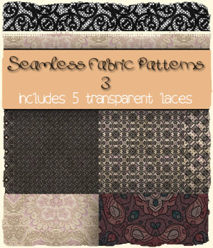 Seamless Fabric Patterns 3 2D Graphics Merchant Resources antje