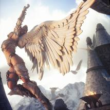 Aviary Wings for Genesis 8 Male and Female image 1