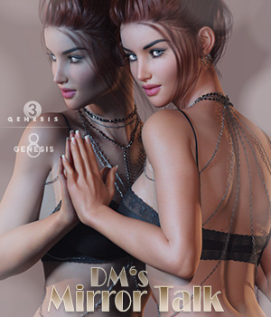 DMs Mirror Talk 3D Figure Assets 3D Models DM