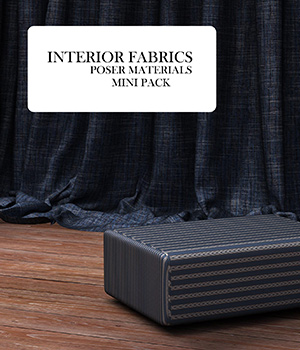 Interior Fabric :: Poser Materials 3D Figure Assets Merchant Resources Cyrax3D