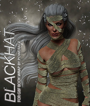 BLACKHAT - G8F Body Wrap 3D Figure Assets Anagord