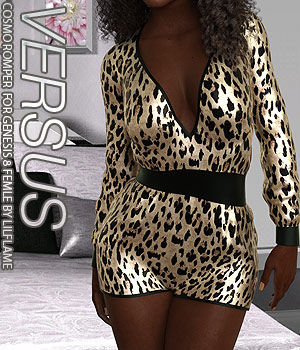 VERSUS - Cosmo Romper for Genesis 8 Females 3D Figure Assets Anagord