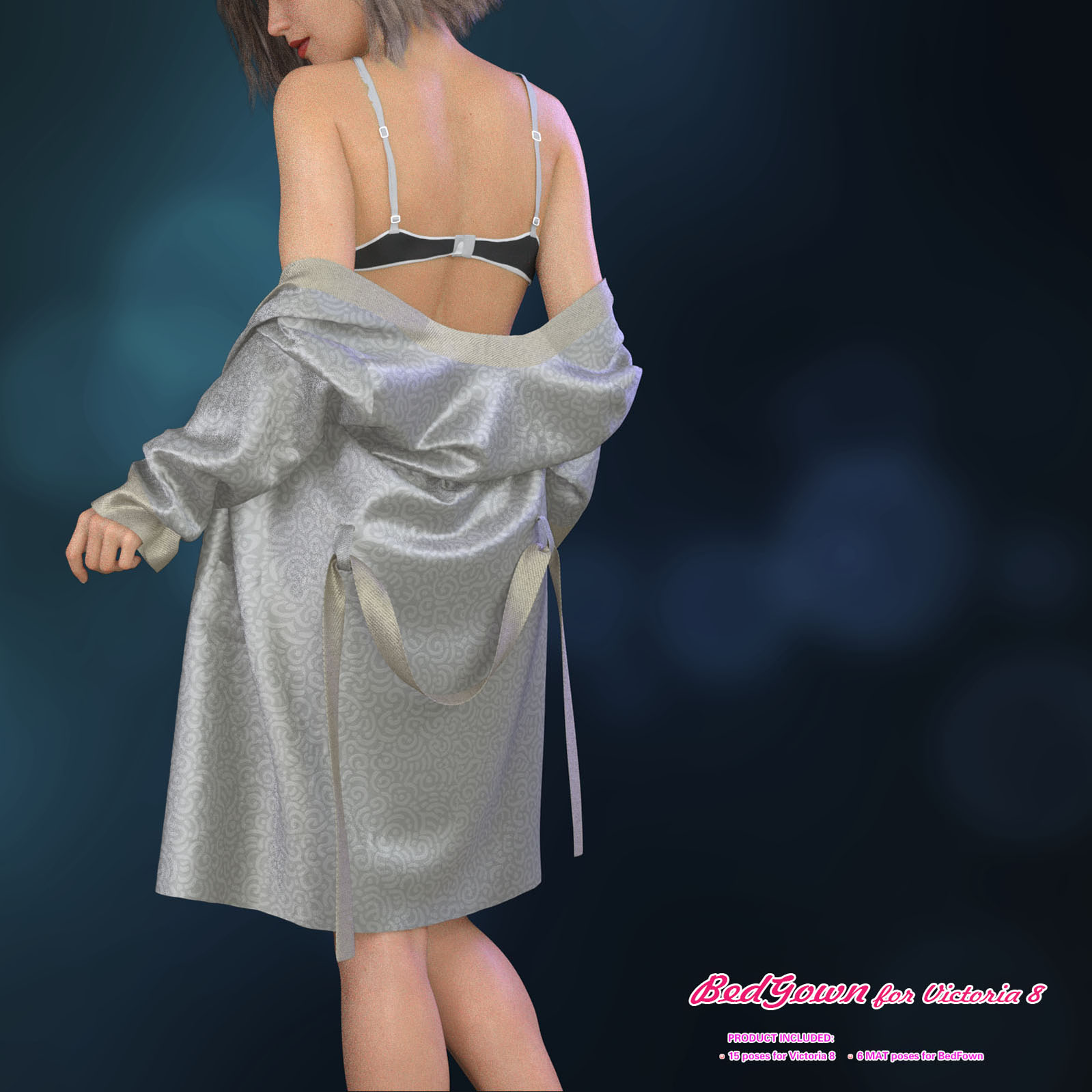 BedGown for Victoria 8 by halcyone
