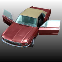 FORD MUSTANG GT 1967 for POSER image 1