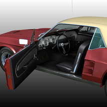 FORD MUSTANG GT 1967 for POSER image 4