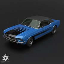 FORD MUSTANG GT 1967 for POSER image 5