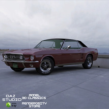 FORD MUSTANG GT 1967 for POSER image 6