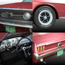 FORD MUSTANG GT 1967 for POSER image 7