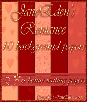 JaneEden's Romance Backgrounds 2D Graphics JaneEden