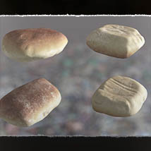 3D MiniScenery: Discarded Bread image 4