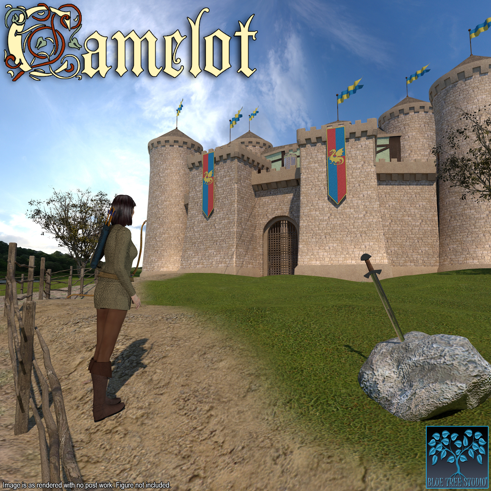 Camelot for Poser by BlueTreeStudio