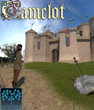 Camelot for Poser 3D Models BlueTreeStudio