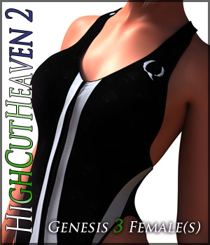 HighCutHeaven2 for Genesis 3 Females 3D Figure Assets Quanto