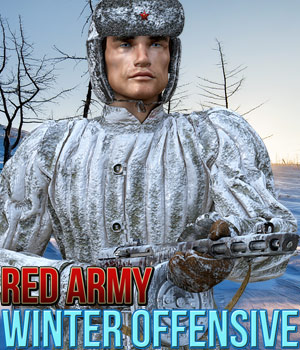 Red Army: Winter Offensive 3D Figure Assets Cybertenko