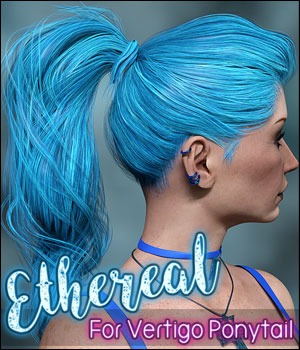 Ethereal for Vertigo Ponytail 3D Figure Assets Ladyillin