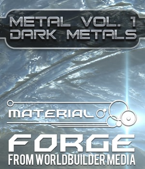 Material Forge Metal Vol. 1 Dark Metals - Extended License 2D Graphics Extended Licenses Merchant Resources WorldbuilderMedia
