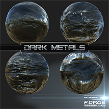 Material Forge Metal Vol. 1 Dark Metals - Extended License image 1