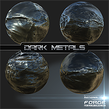 Material Forge Metal Vol. 1 Dark Metals - Extended License image 2