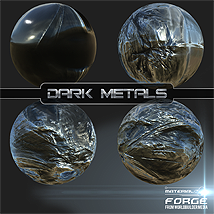 Material Forge Metal Vol. 1 Dark Metals - Extended License image 3